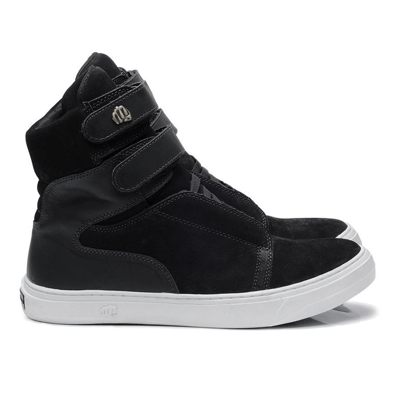 Tênis Hardcorefootwear Nobuck Black HD3722BL