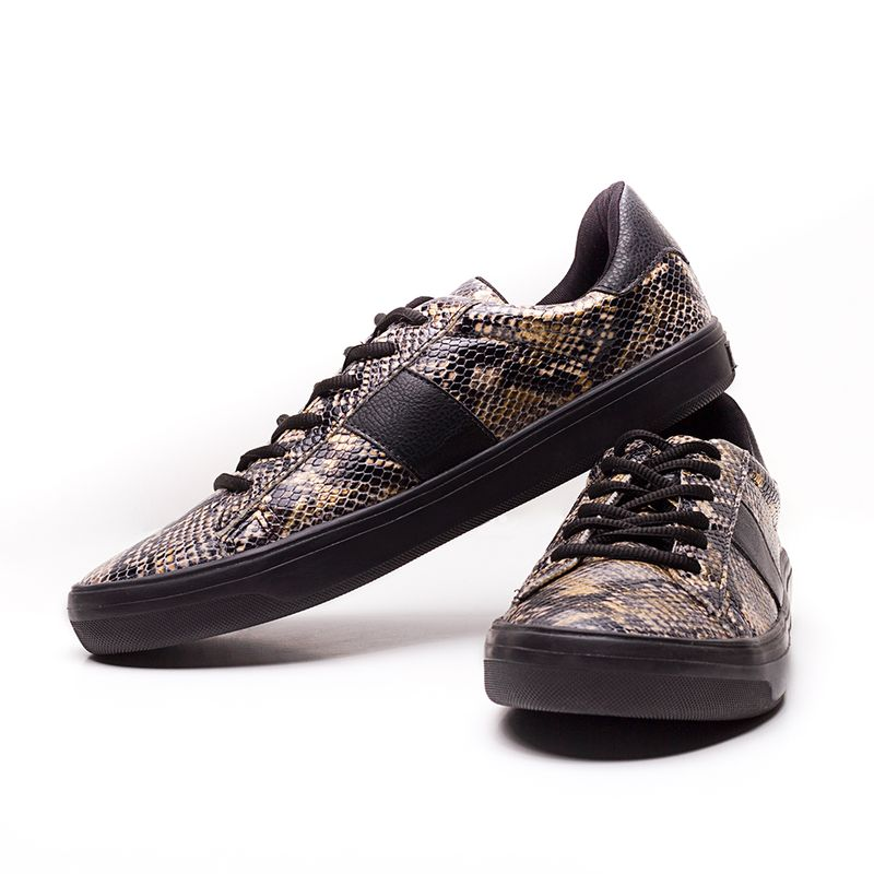 Tenis-HB-Be-Strong-Serpente-Gold-