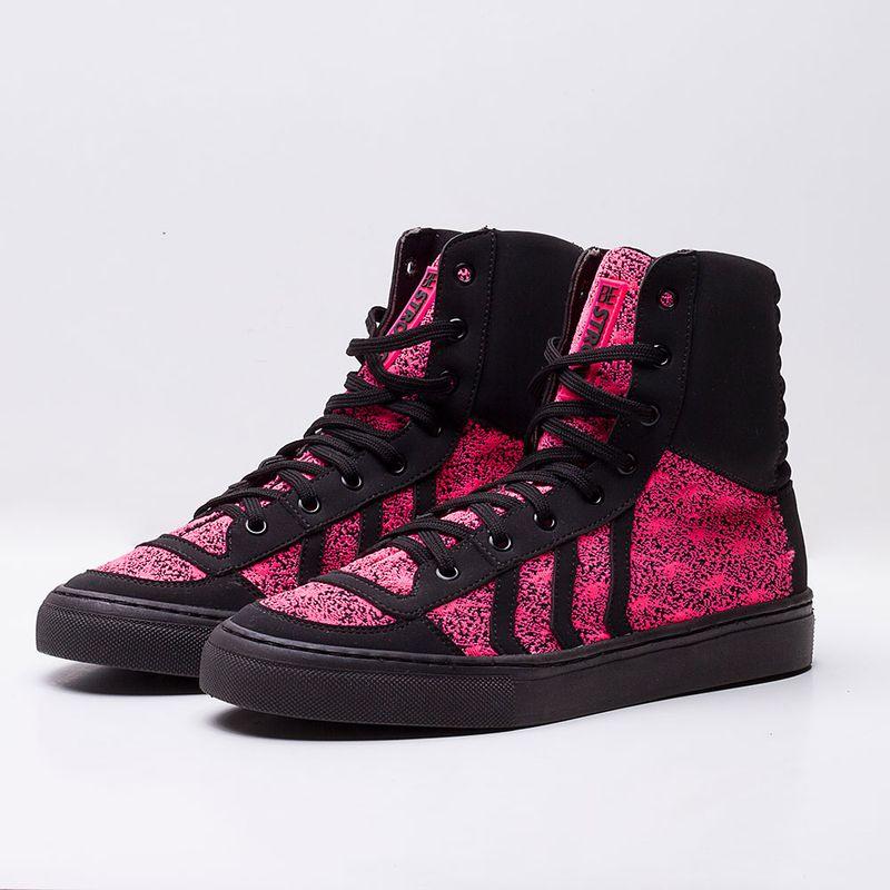 Tenis-Slim-Snake-Be-Strong-Shoelace-Black