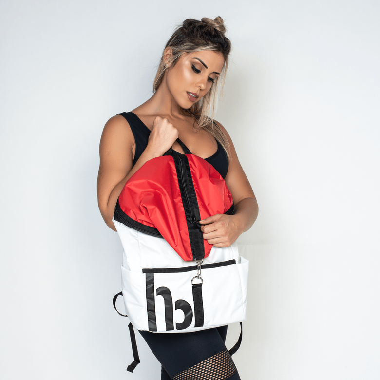 Bag Fitness Honey Style White BA016