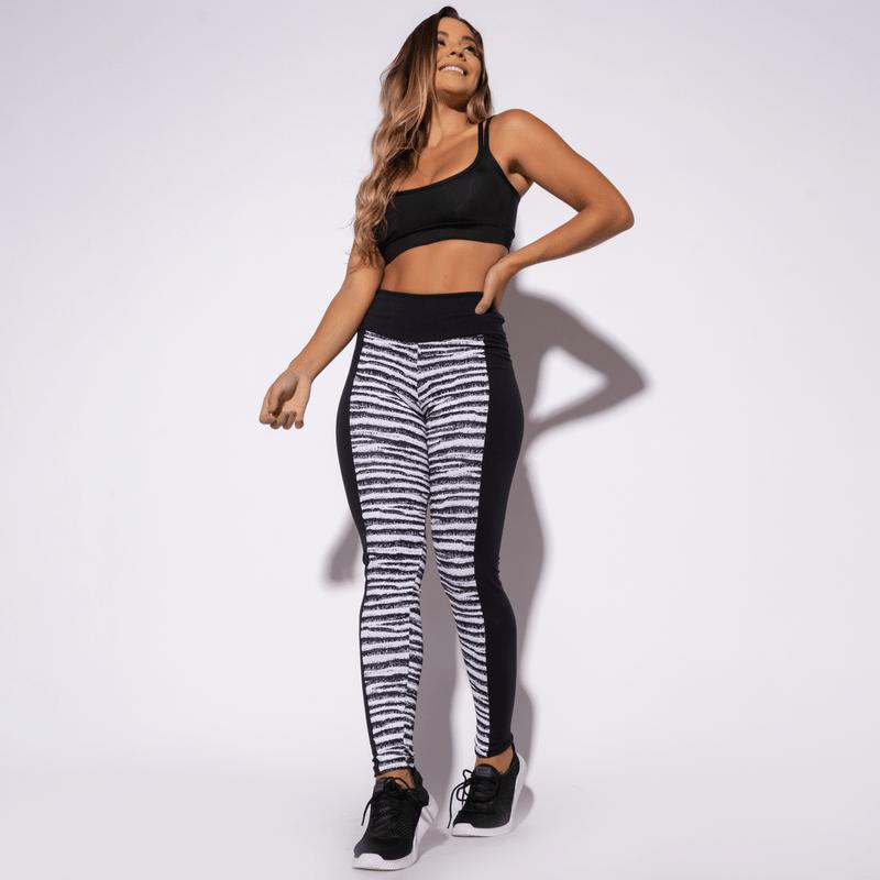 Legging-Fitness-Jacquard-Zebra-Preta-LG1324