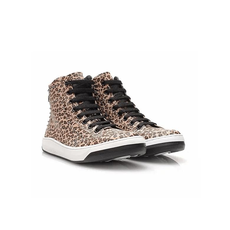 Sneaker Slim Hardcore Footwear 3726F Laranja Onça TS041