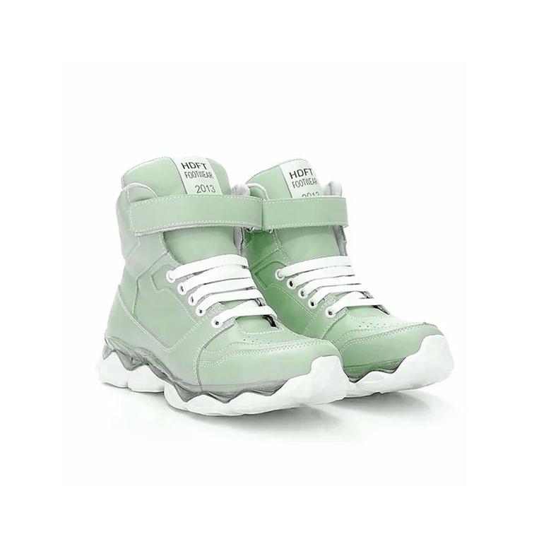 Tenis Intensity Juju Salimeni Hardcorefootwear 9100 Verde TS039