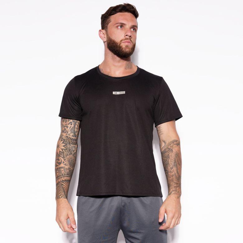 Camisa Dry HB Sports Preta BL302