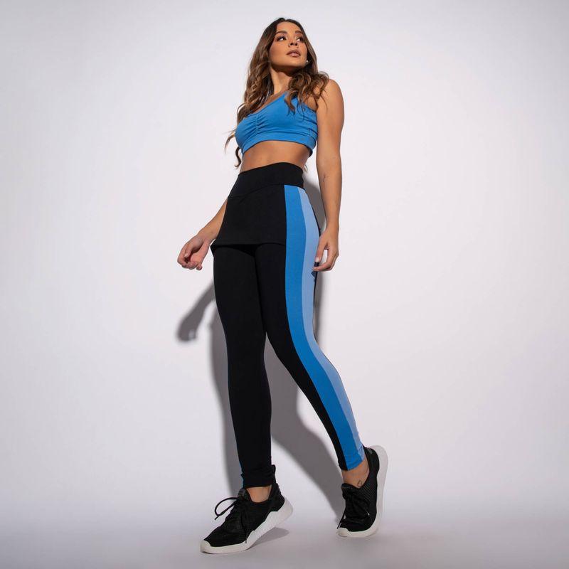 Legging-com-Saia-Fitness-Preta-e-Recorte-Bicolor-LG1565