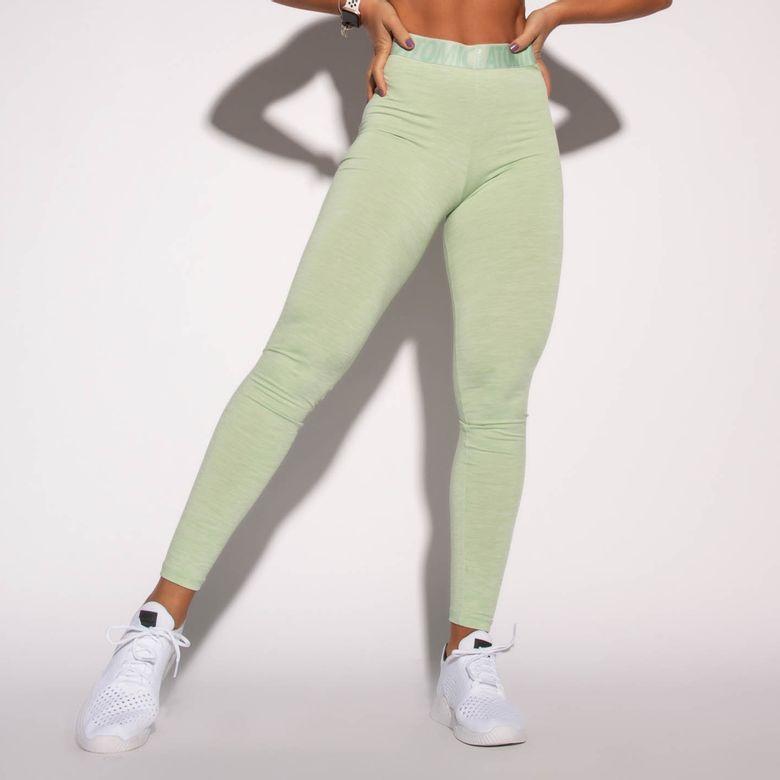 Legging Fitness Atomic Verde Mesclada LG1578