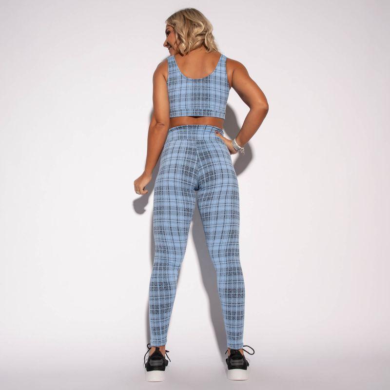 Legging-Fitness-Jacquard-Azul-Chess-LG1585