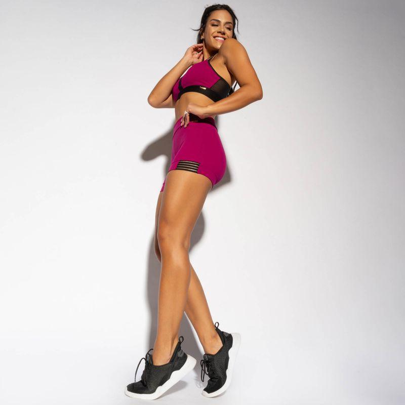 SH357-Short-Fitness-Rosa-Recorte-Fita