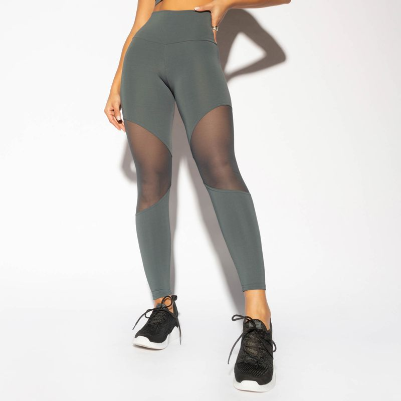 LG1608-Legging-Cintura-Alta-Fitness-Cinza-com-Recorte-Tule