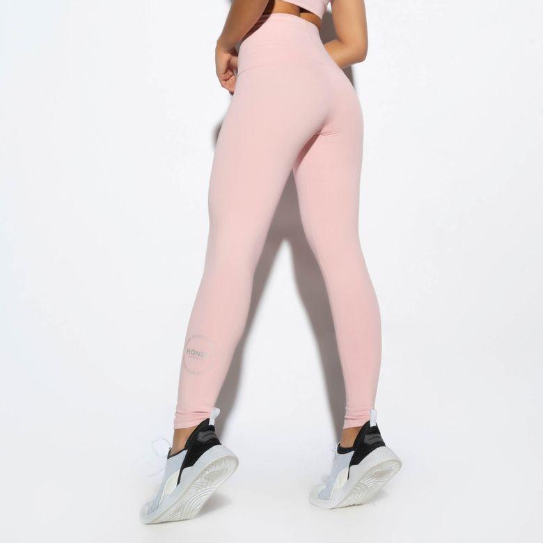 Legging Fitness Cintura Alta Rosa LG1683