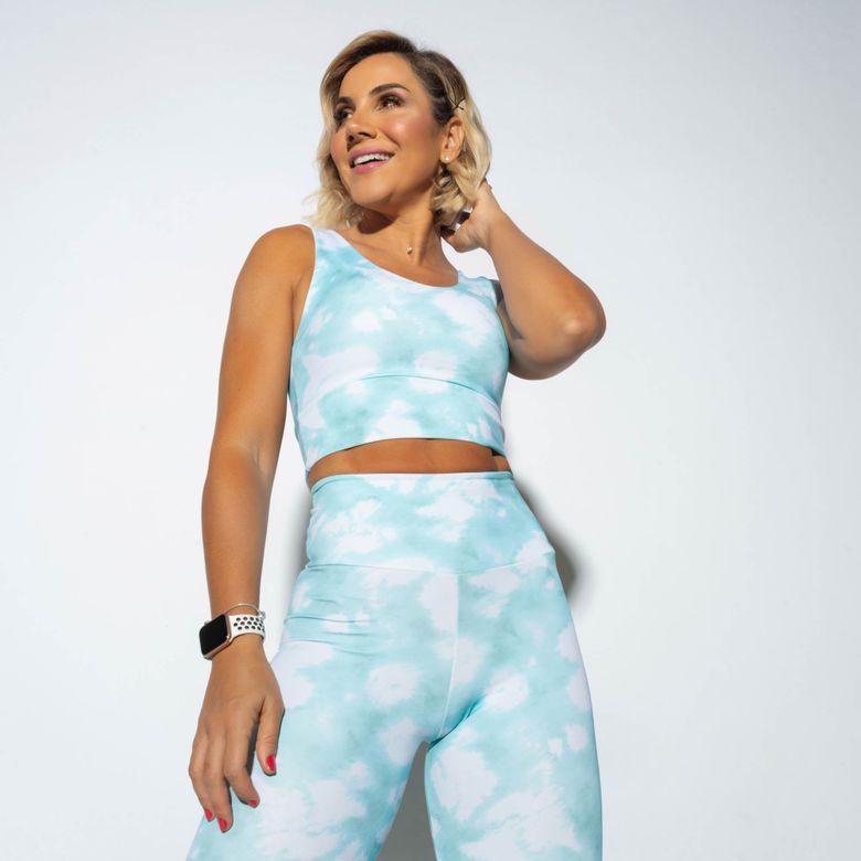 Top Fitness Azul Tie Dye Cloud TP1093