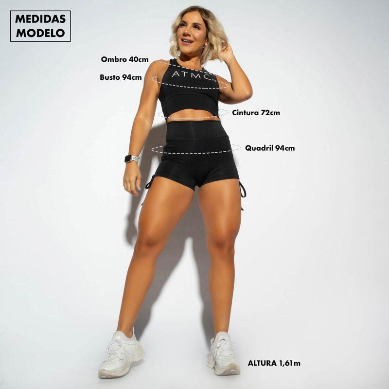 -Legging-Cintura-Alta-Fitness-Honey-Be-Vermelha