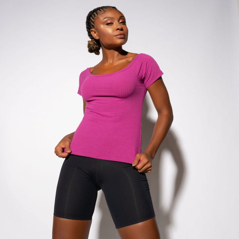 Blusa-Fitness-Canelada-Gola-Canoa-Roxa-BL409