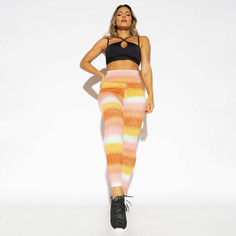 Legging-Fitness-Estampada-Colors-Vermelha-LG1710