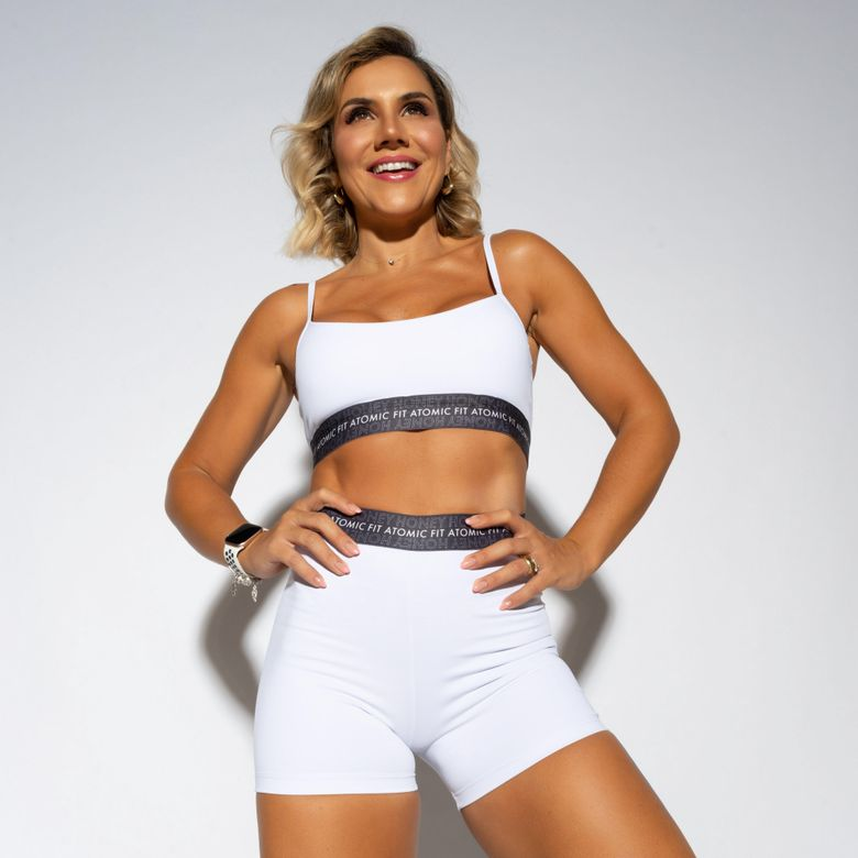 Top Fitness Atomic Fit Branco TP1125