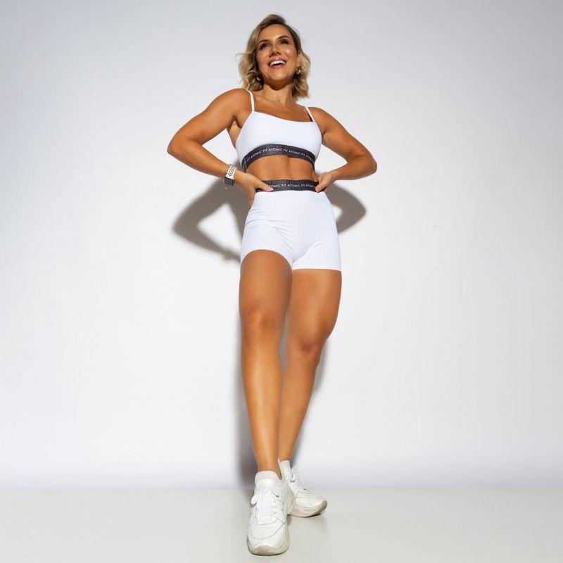 Short-Fitness-Atomic-Fit-Branco-