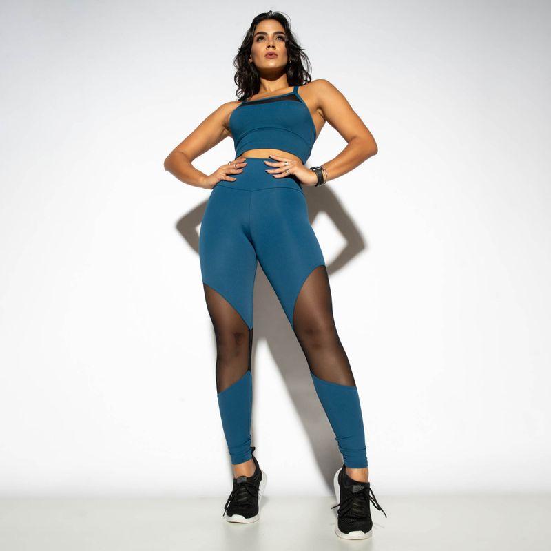 Legging-Cintura-Alta-Fitness-Azul-Recortada-Com-Tule-LG1785