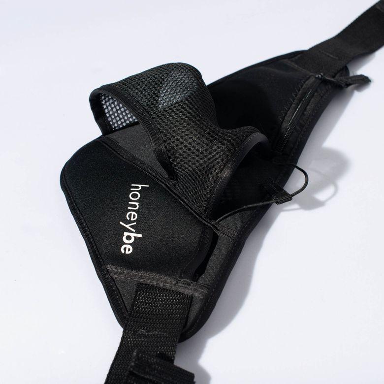 Pochete Porta Squeeze Fitness Preta BA060