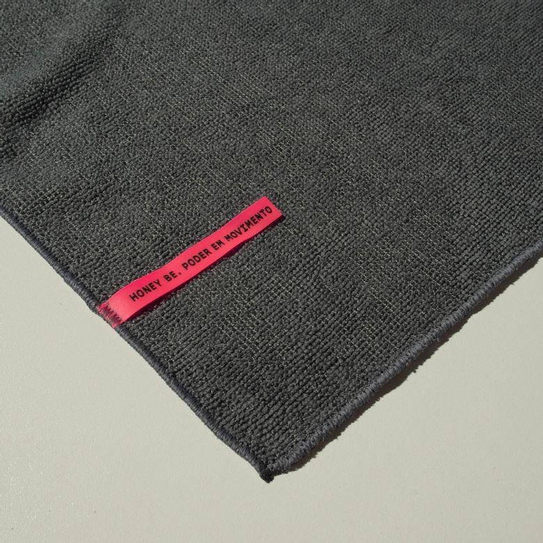 Toalha de Alta Absorção HB Cinza TO015