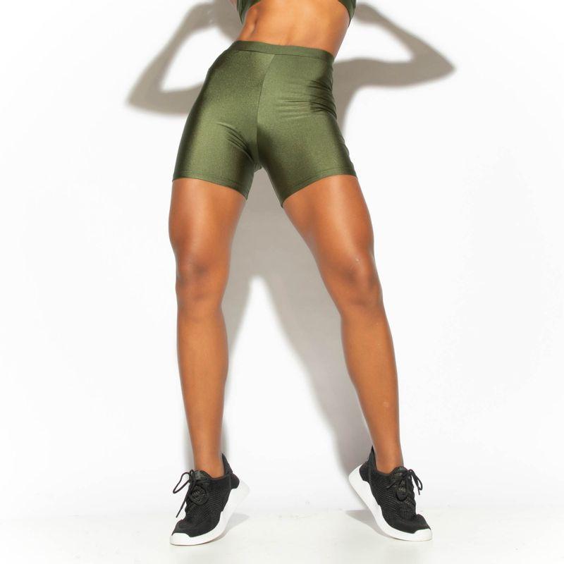 Short-Fitness-Verde-Militar-Gloss