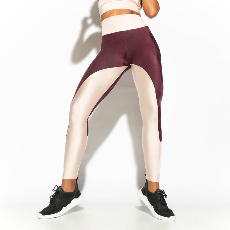 Legging Fitness Roxa Dual LG1746