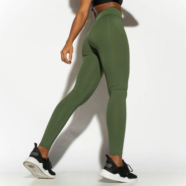 Legging Fitness Verde Básica LG1809