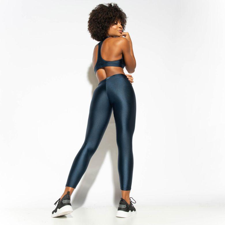 Legging Fitness Azul Marinho Gloss LG1764