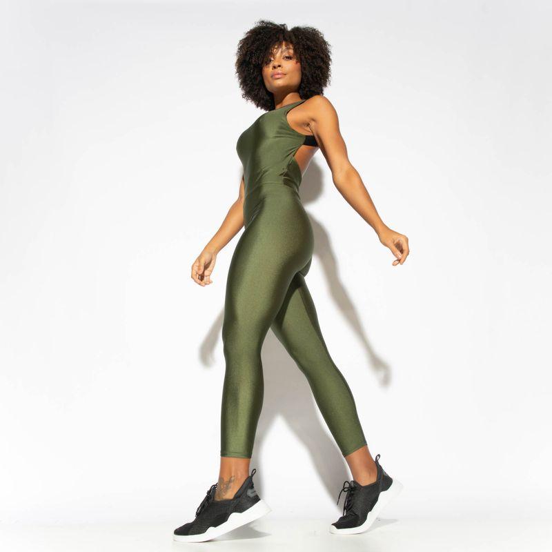 Macacao-Fitness-Verde-Militar-Decote-Quadrado-Gloss