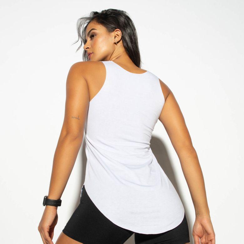Regata Fitness Branca Movimento Sexy CT715