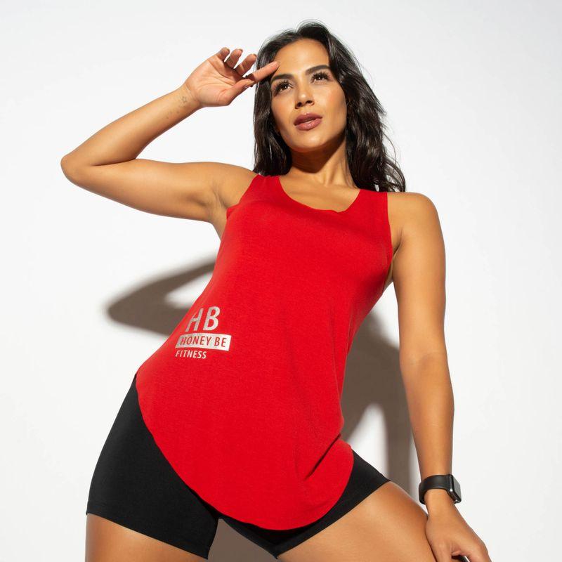 Regata-Fitness-Vermelha-Honey-Be
