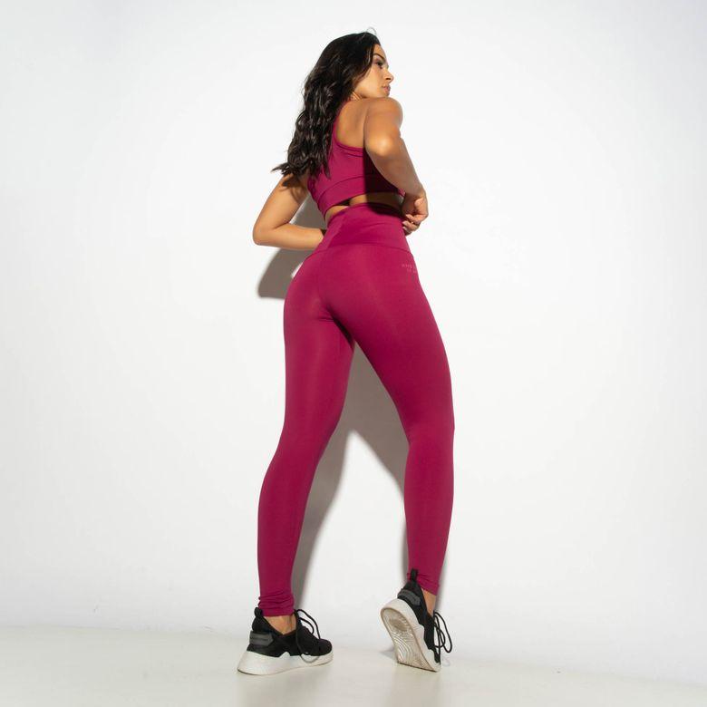 Legging Fitness Cintura Alta HNB TEC Roxo LG1865