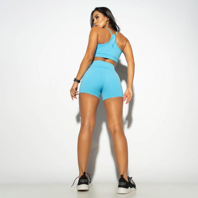 Short Fitness HNB TEC Azul SH473