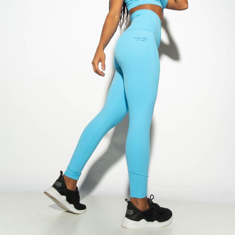 Legging Fitness Cintura Alta HNB TEC Azul LG1863