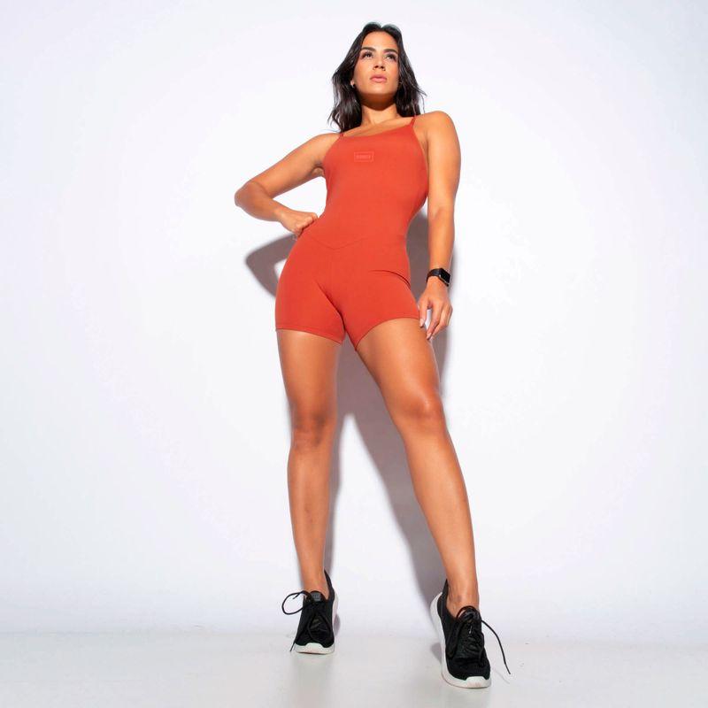 Macaquinho-Fitness-Laranja-Honey-Be-MC232