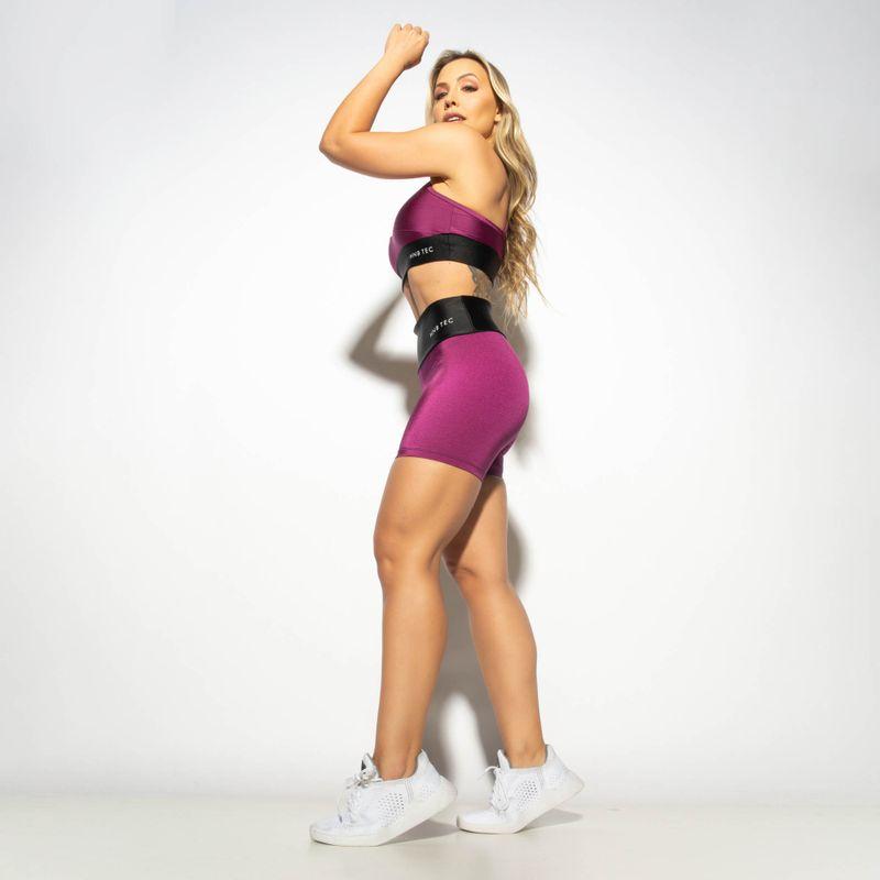 Short-Fitness-Gloss-Duas-Cores-Roxo---Preto-SH511