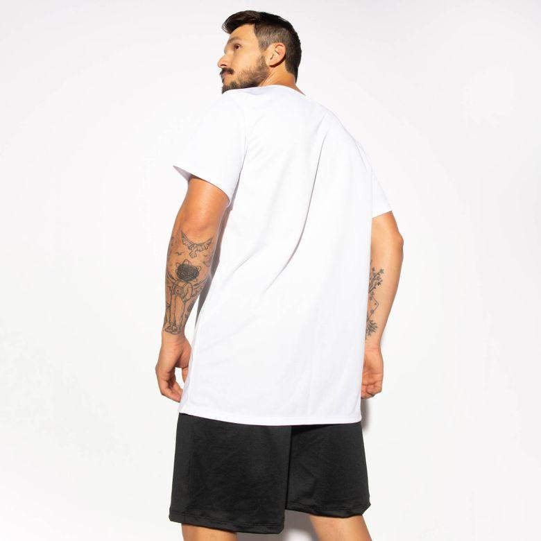 Camisa Fitness Branca Dry Tech CM213