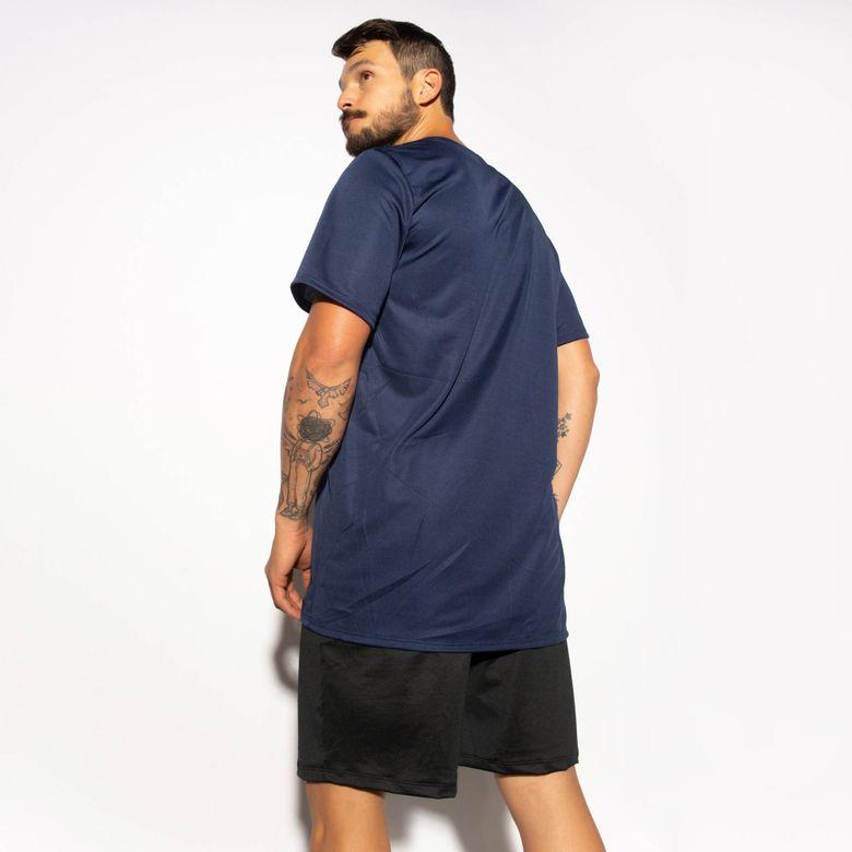Camisa Fitness Marinho Dry Tech CM216