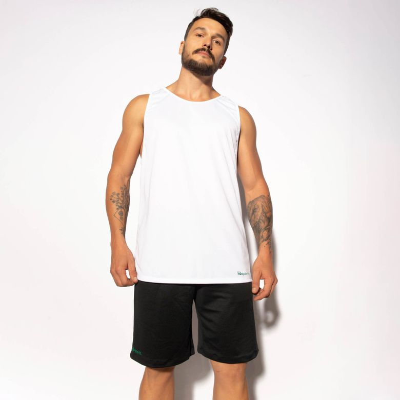 Regata Fitness Branca Dry Tech RG113