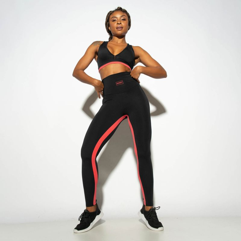 Legging-Fitness-Cintura-Alta-Recortes-Honey-Preta-LG1856