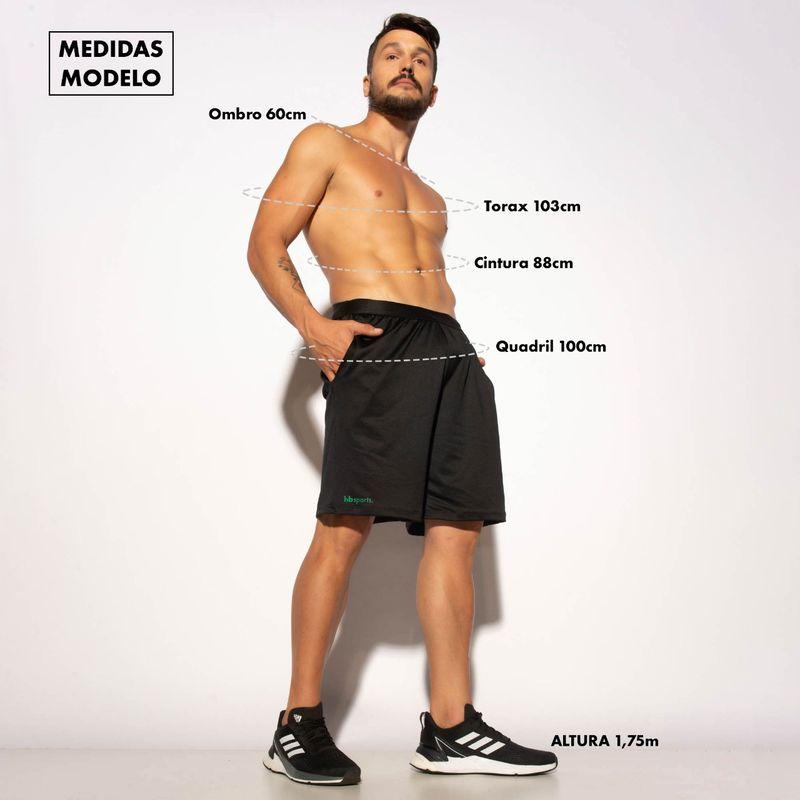Bermuda-Fitness-Preta-Dry-Silk-Verde-BD129