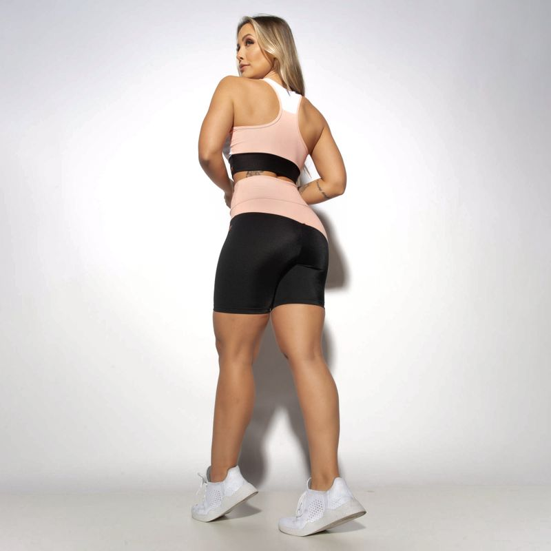 Short-Fitness-Gloss-Preto-e-Salmao-Recorte-Assimetrico-SH507